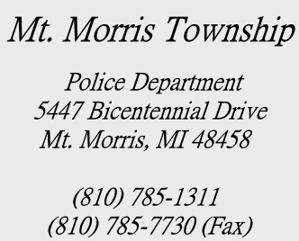 Mt Morris Township Police > Home